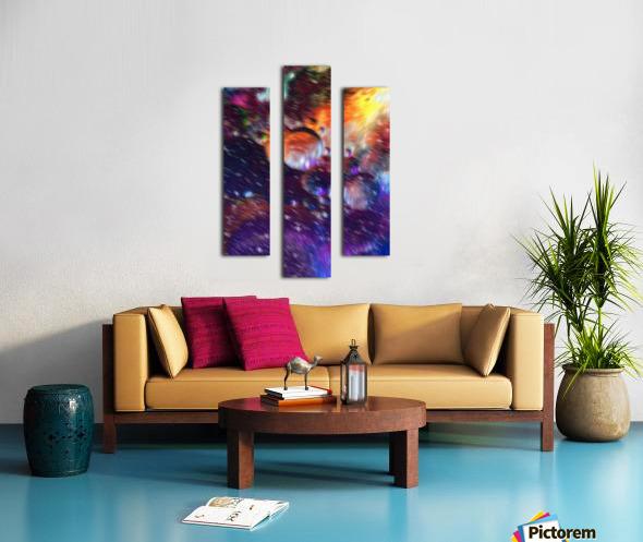 Color Flow F Canvas print
