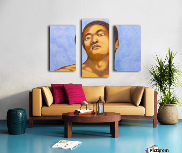 xin in michelangelo mood Canvas print