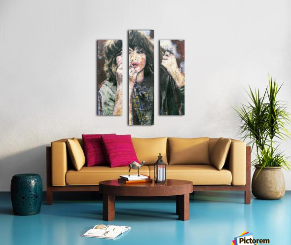 Hochelaga Canvas print