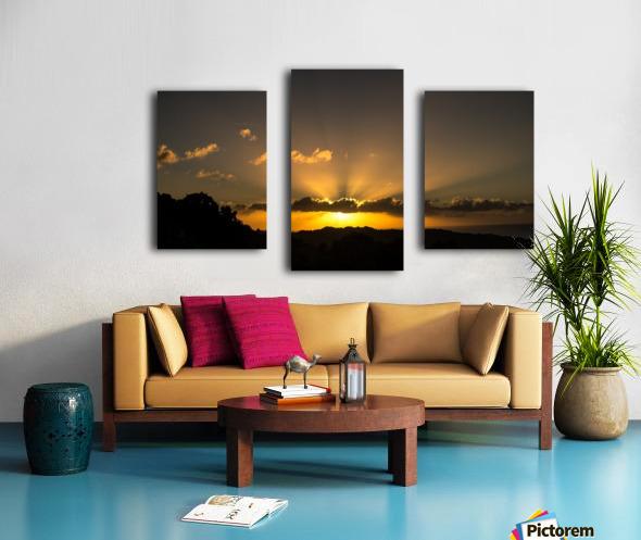 Yellow Skies Canvas print
