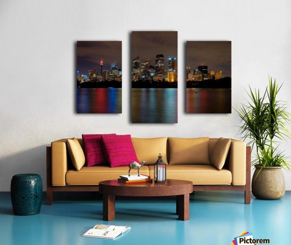 Colors of Sydney Canvas print