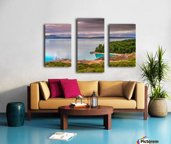 Lake_pukaki Canvas print
