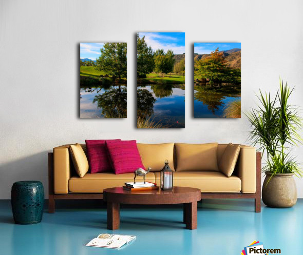The Perfect Mirror Canvas print