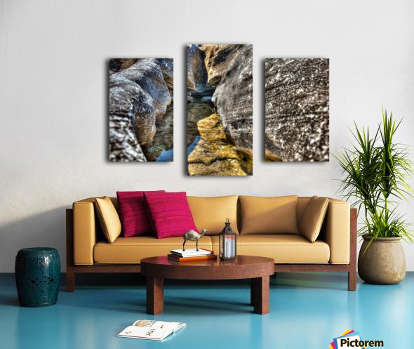 Gods Own Watering Hole Canvas print
