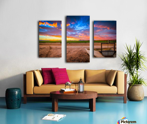 At Days End Canvas print