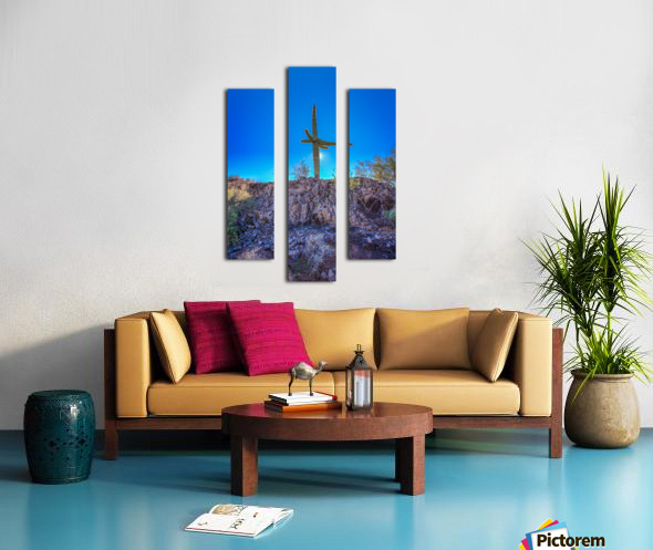 Natures Cross Canvas print