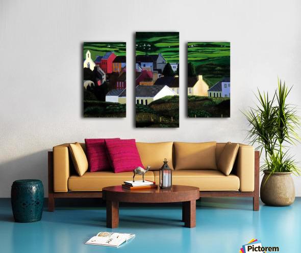 IRELAND VILLAGE Canvas print