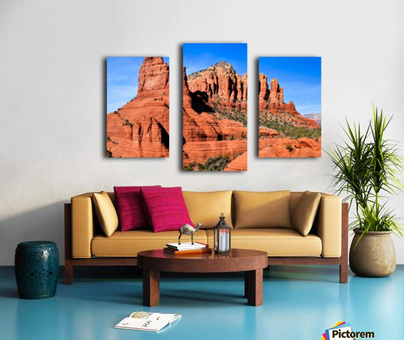 Bell Rock Sedona Canvas print