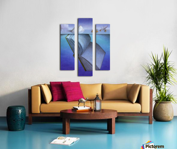 iceberg Impression sur toile