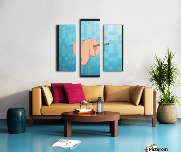 Tongue Canvas print