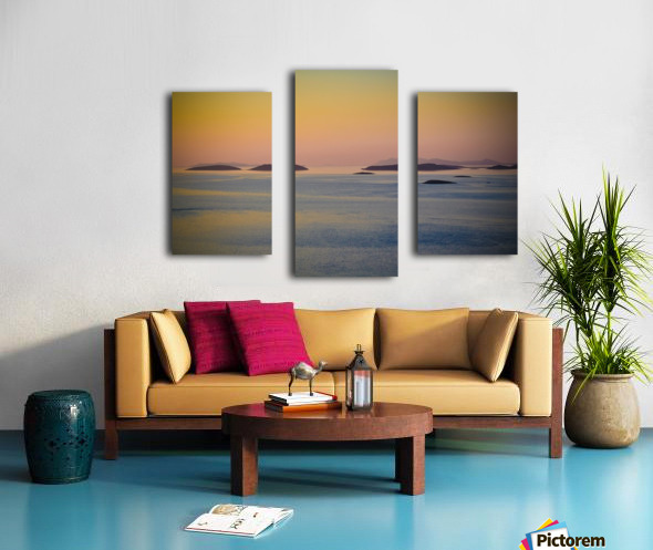 Adriatic islands Canvas print