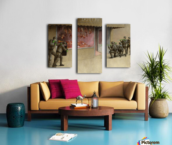 SWAT Canvas print