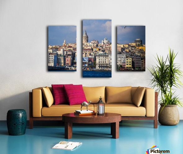 Galata, Istanbul Canvas print