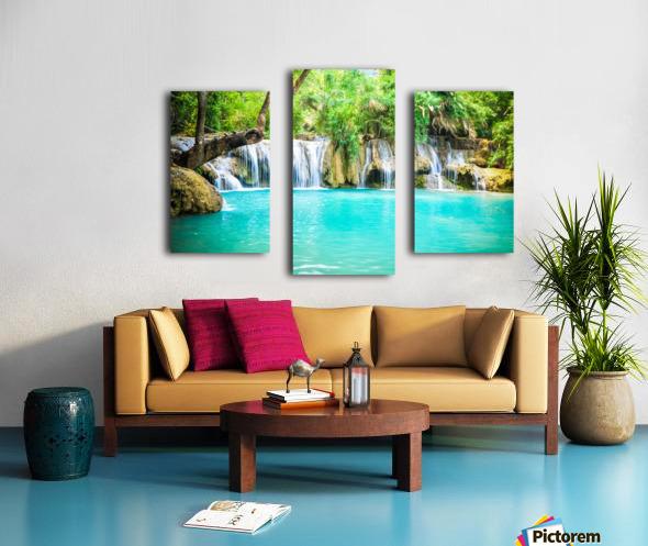 Luang Prabang waterfalls Canvas print