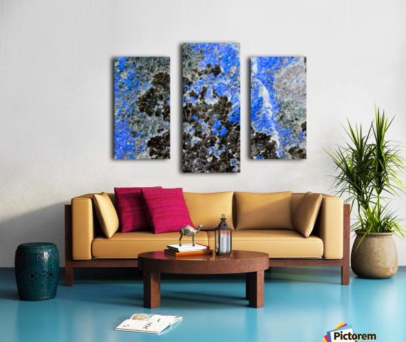 Blue Rock Canvas print