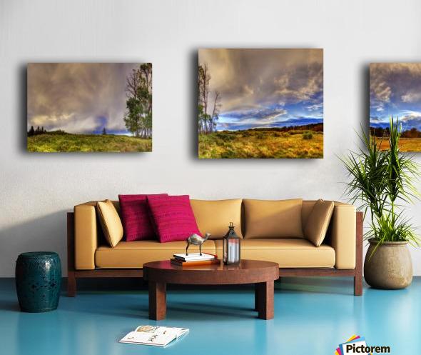 Bentley_Sunset_MG_8404EditedBR Canvas print