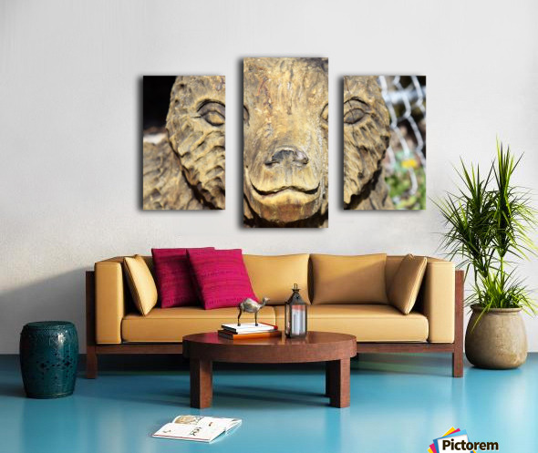 The Animal Totem  Canvas print