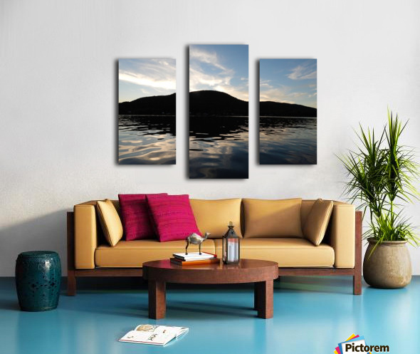 Ancient Hills, Open Water  Canvas print