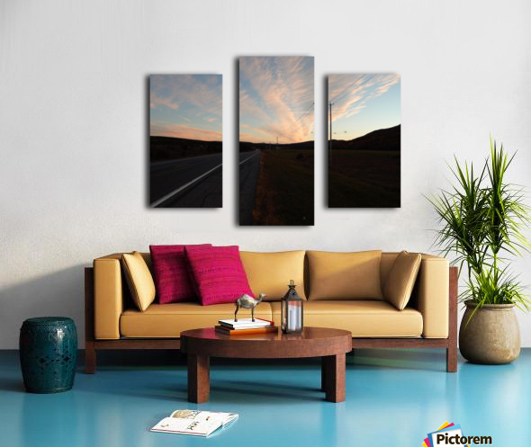 The Flats  Canvas print