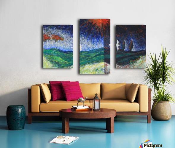 beetwen Canvas print