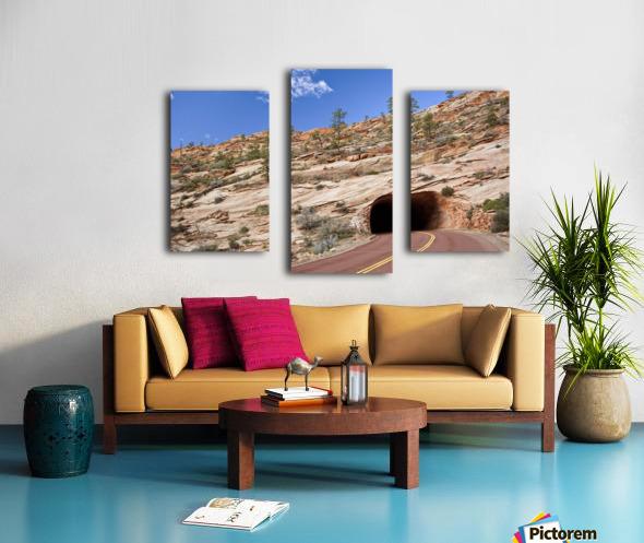 Zion Park Tunnel Canvas print