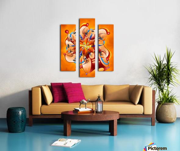 Kaloderoni V2 - dream machine Canvas print