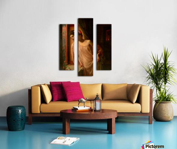 Asterie Canvas print