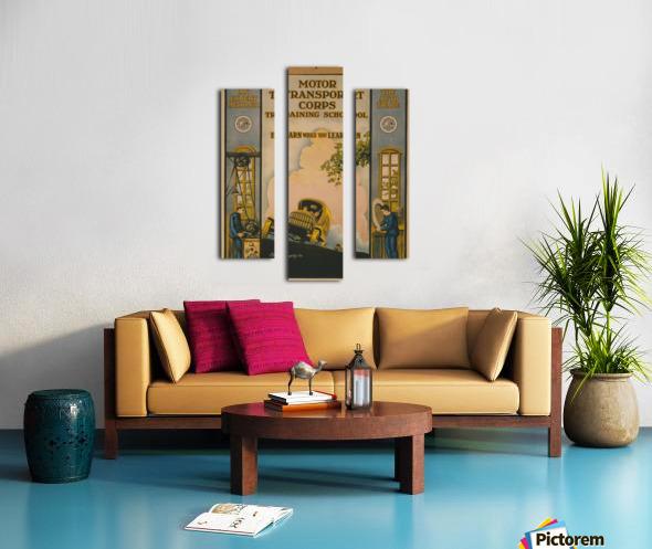 Learn a trade Canvas print