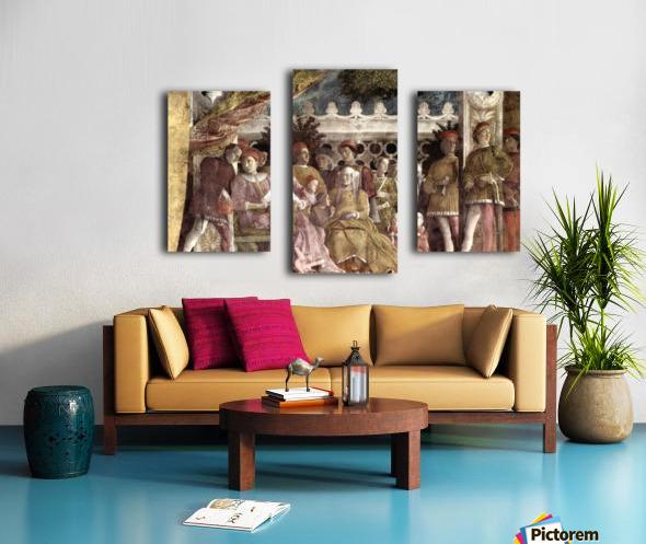 Camera degli Sposi Canvas print