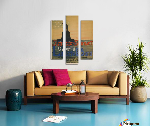 Own a liberty bond Canvas print