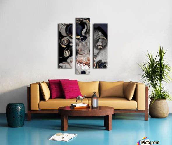 Vision of Aesthetic Thing  Canvas print