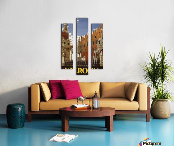 Verona Canvas print