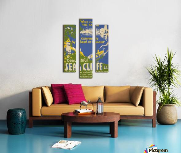 Visit Sea Cliff Canvas print