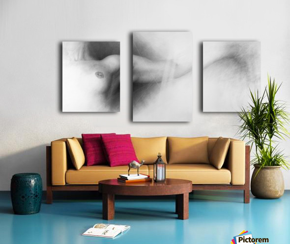 Nude Drawing Canvas print