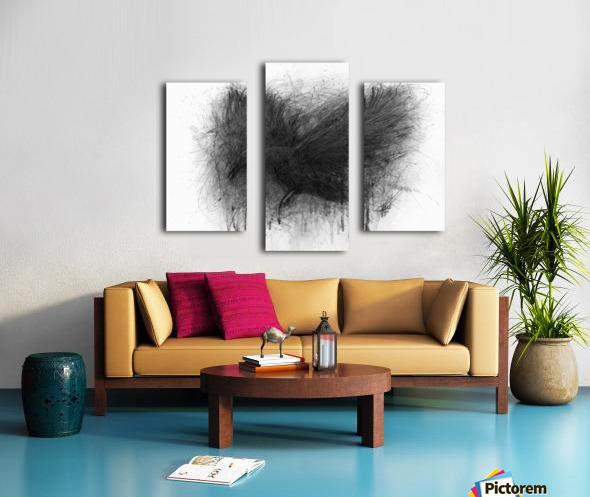 The Raven Canvas print
