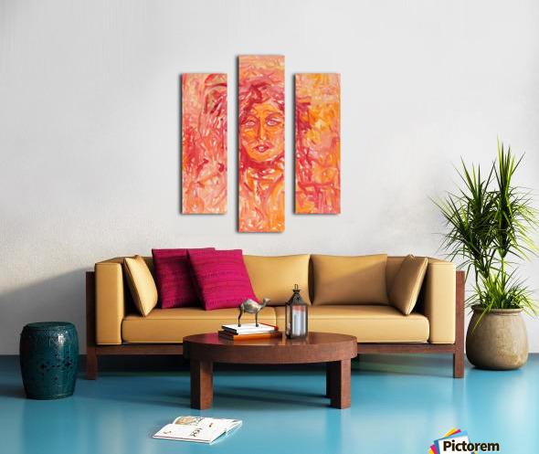 Separation Canvas print