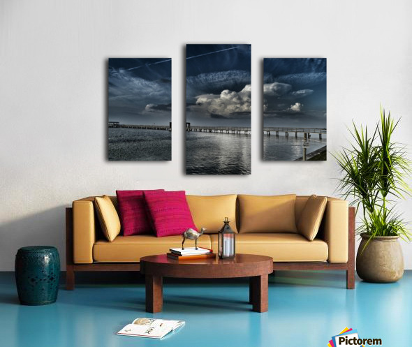 Private Property Canvas print