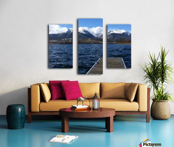 Denver Lake Canvas print