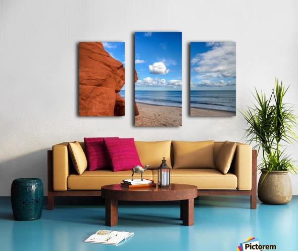 Magdalen Island Canvas print