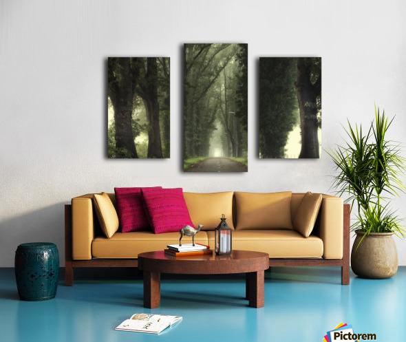 Tunnel of inner calmness Canvas print
