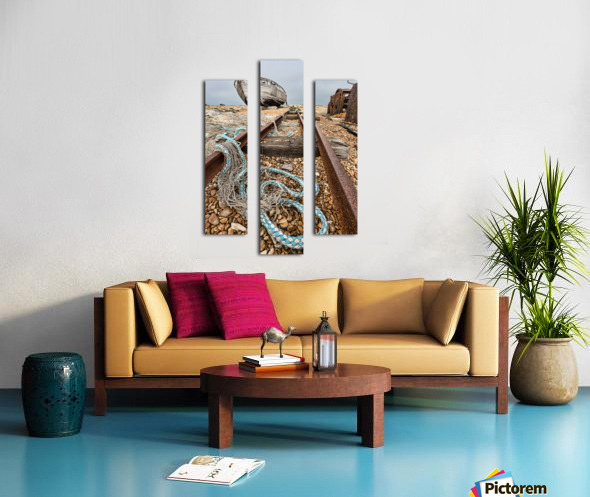 Deserted Dungeness Canvas print