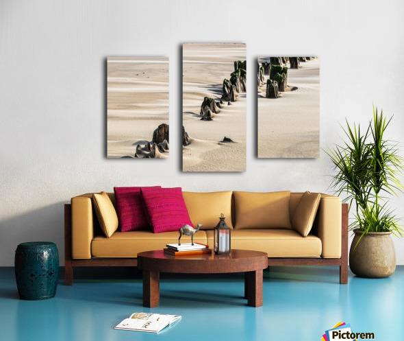 Forgotten Pier Canvas print