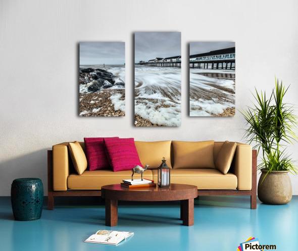 Southwold Pier, UK  Canvas print
