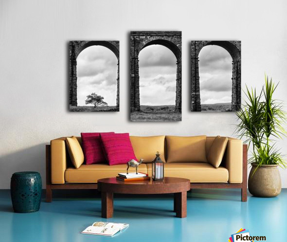 Settle Carlisle Viaduct Yorkshire England Canvas print