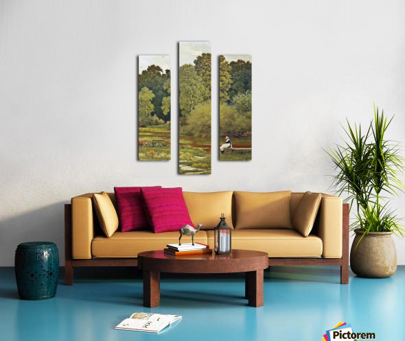 Riverside, Wallingford, Berkshire Canvas print