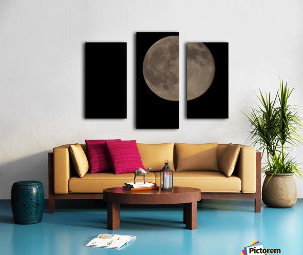 Super Moon 4 Canvas print
