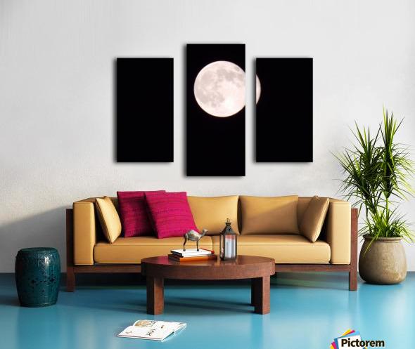 Super Moon 3 Canvas print