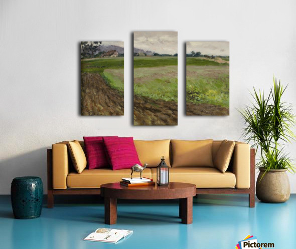 Selskiy peyzazh Canvas print