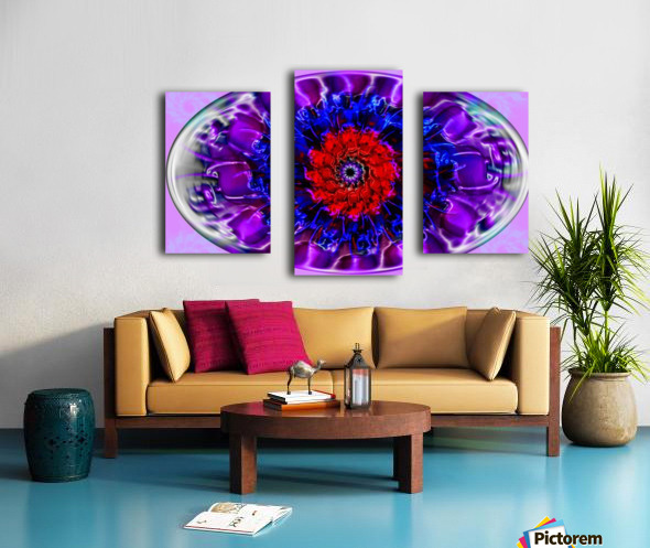 Fractal Eye Canvas print