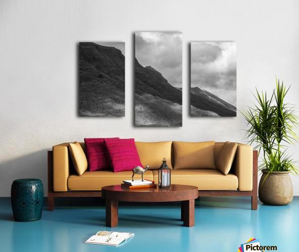 Light on the Mountain Canvas print